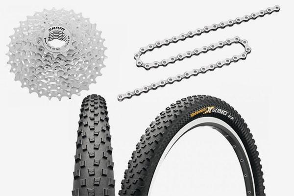 Hochwertige Fahrradteile