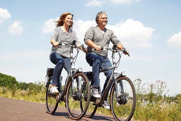 E-Bikes und Trekkingräder von Gazelle